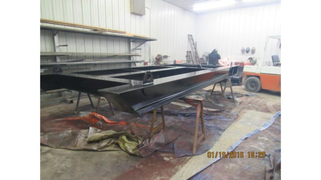 I Beam Skid Frame For 12 Quot Booster Pump Recent Projects