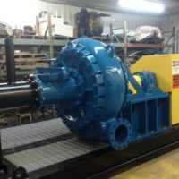 J36 Booster Pump with 500 horse electric motor